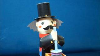 automaton - papercraft - chimney sweeper (Canon Papercratt) - dutchpapergirl