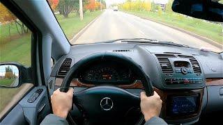 2004 Mercedes-Benz Viano W639 3.2 (190) POV TEST Drive