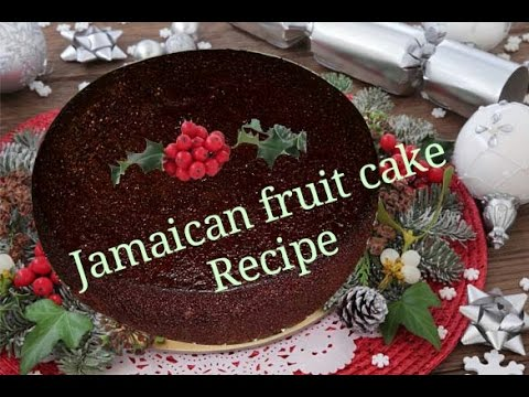 Jamaican Fruit Cake Recipe For Wedding