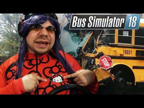 Busfahrer UWE macht URLAUBSVERTRETUNG   Bus Simulator 2018