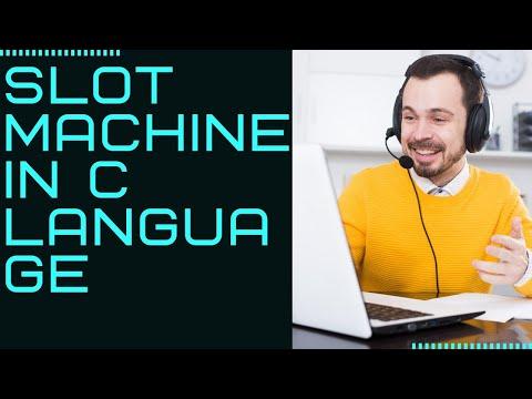 Slot Machine C Program