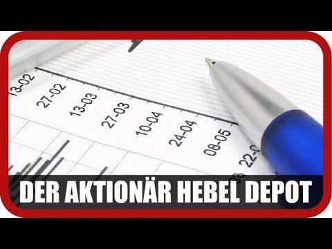 Hebel-Depot: Ein Nachkauf, zwei Überflieger