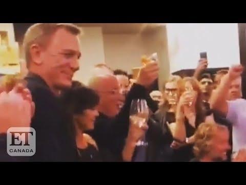'Drunk' Daniel Craig Gets Emotional Saying Bye To Bond
