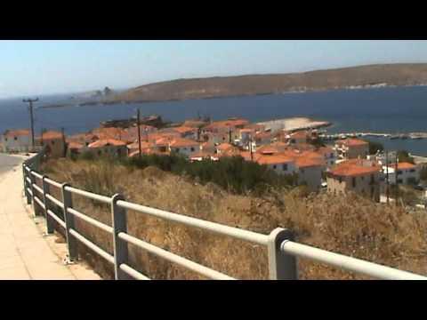 Lesbos 2011 - západ ostrova