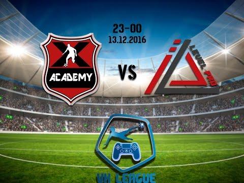 VK League 17 Тур: ACADEMY X - Level Pro