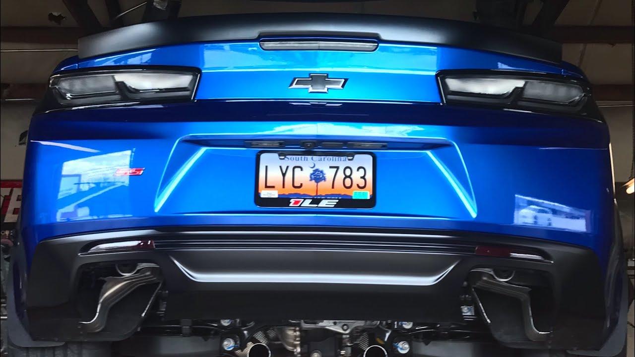 the camaro gets loud 2018 camaro ss 1le corsa xtreme exhaust