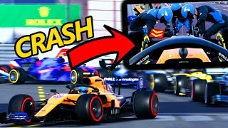 DISASTRO A MONACO! F1 2019 Carriera McLaren