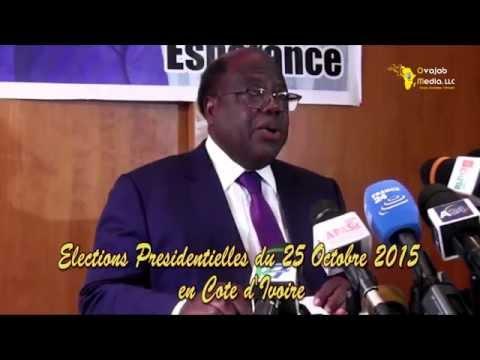 Banny se retire des Présidentielles Abidjan 23 Octobre 2015