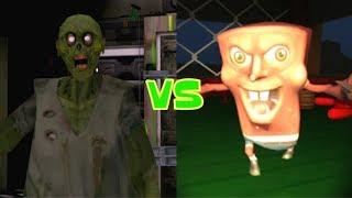 Zombie Granny vs Evil SpongeBob