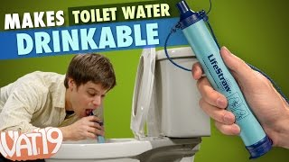 LifeStraw makes toilet water drinkable