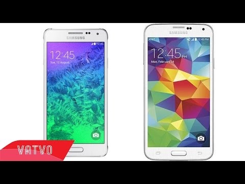 [Review dạo] So sánh nhanh Samsung Galaxy Alpha và Samsung Galaxy S5