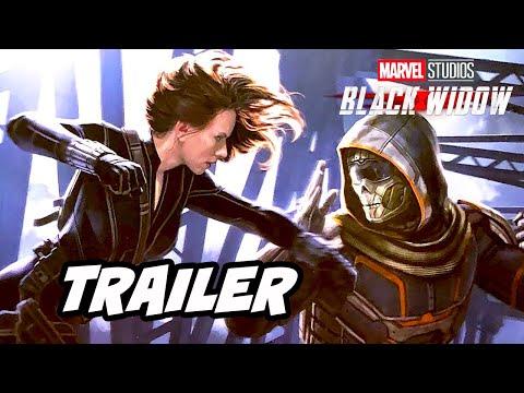 Black Widow Trailer - Avengers Endgame Marvel Phase 4 Easter Eggs