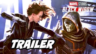 Black Widow Trailer - Avengers Endgame Marvel Phase 4 Easter Eggs