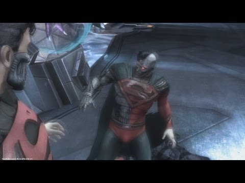 Injustice: Gods Among Us - Superman - Cyborg Superman *Free Costume/Skin* (HD)