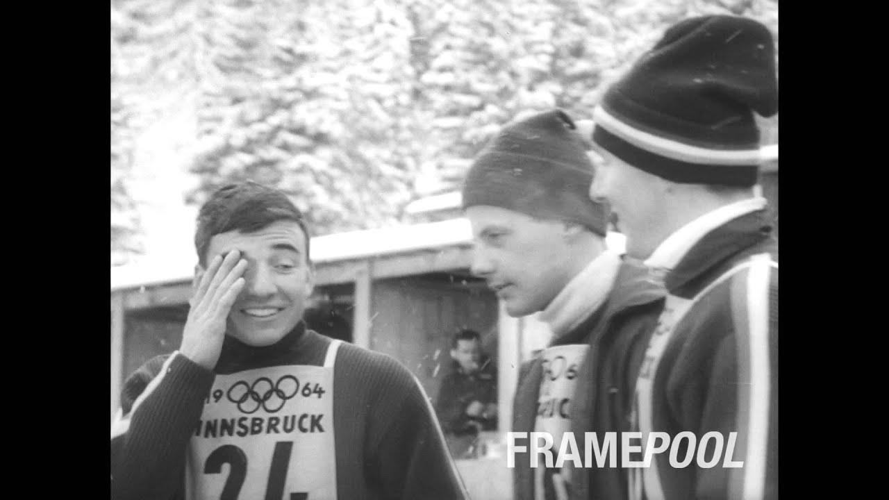 Olympic Winter Games Innsbruck 1964 Hd Newsreel Footage Youtube