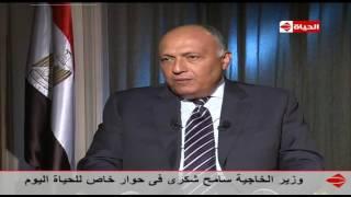 بالفيديو.. وزير الخارجية: لن أسمح بميكروفون لـ«الجزيرة» في مجلسي