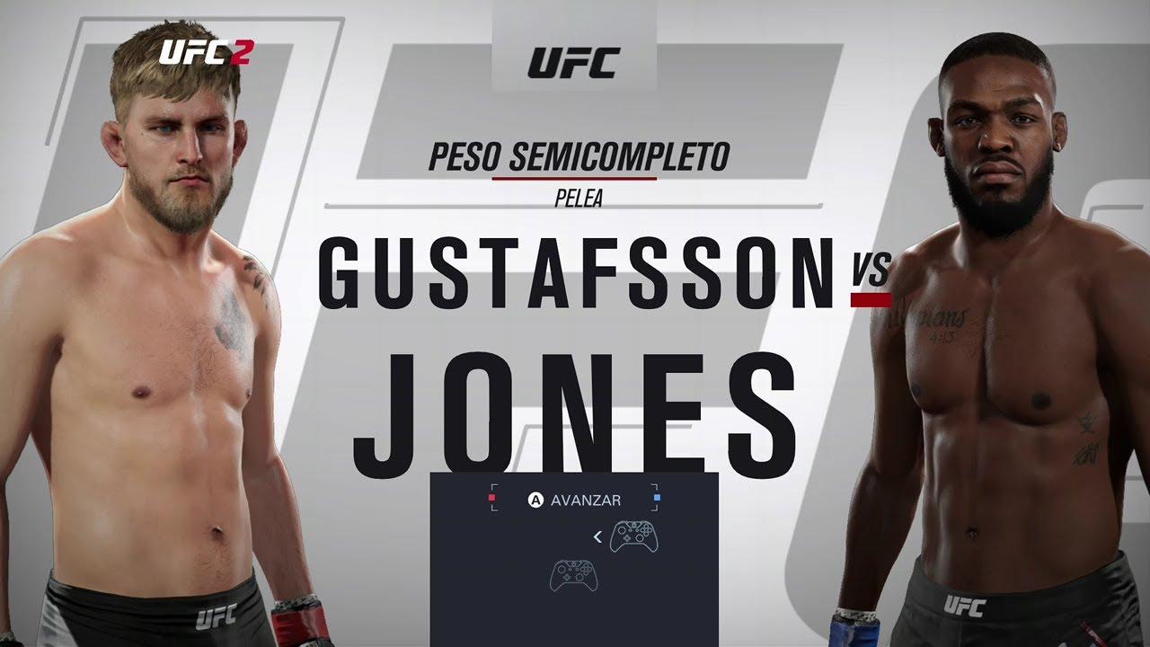 UFC 23 (evento estelar) Alexander Gustafsson vs Jon Jones 2