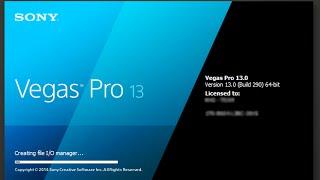 Sony Vegas Pro 13 - основное обучение для создания мувиков за 7 мин [KamyshevSV]