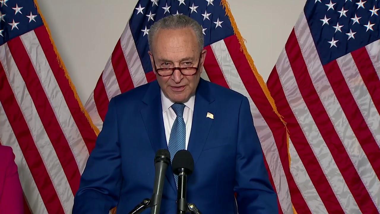 Download LIVE: Senate Majority Leader Chuck Schumer speaks
