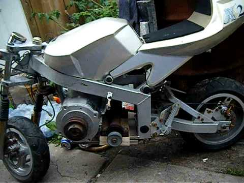 Pocket Bike Electric Motorcycle Diy Do It My Self