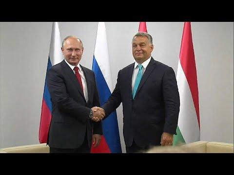 Rússia e Hungria aproximam-se