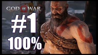 God of War The Wildwoods 100% Walkthrough and Collectibles Part 1 PS4 Pro 1080p 60fps