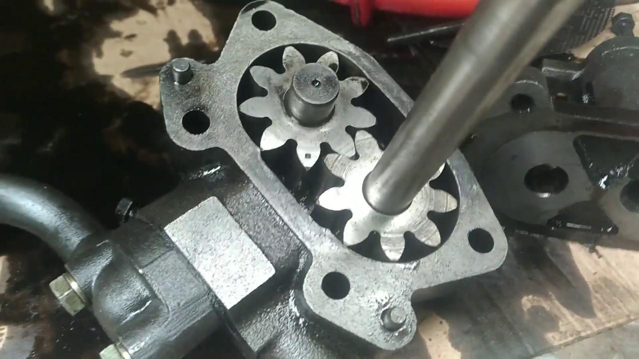 Ремонт и восстановление производительности маслянного насоса автомобиля Фотон.