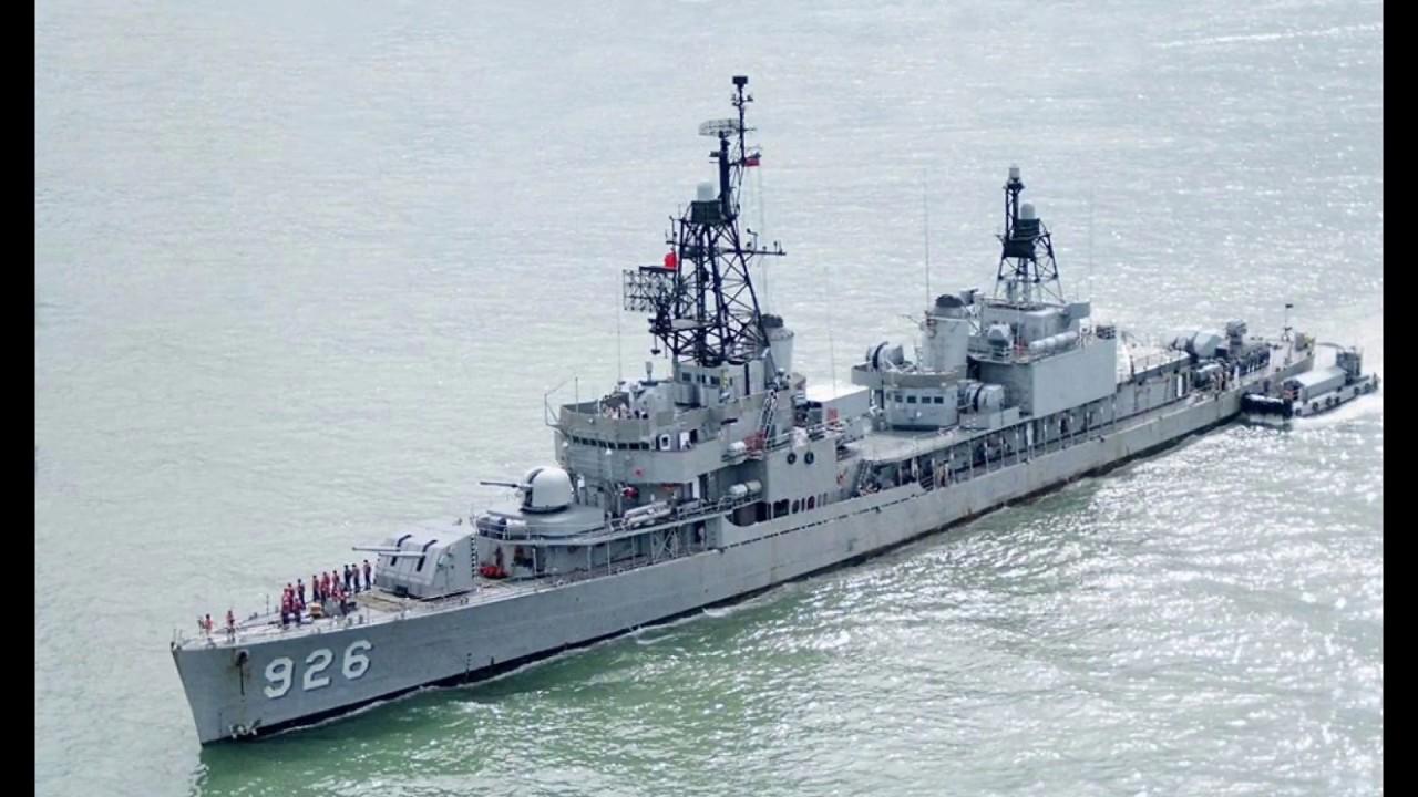 Chinese Navy Destroyer 2 中華民國海軍陽字號驅逐艦剪輯 2 - YouTube