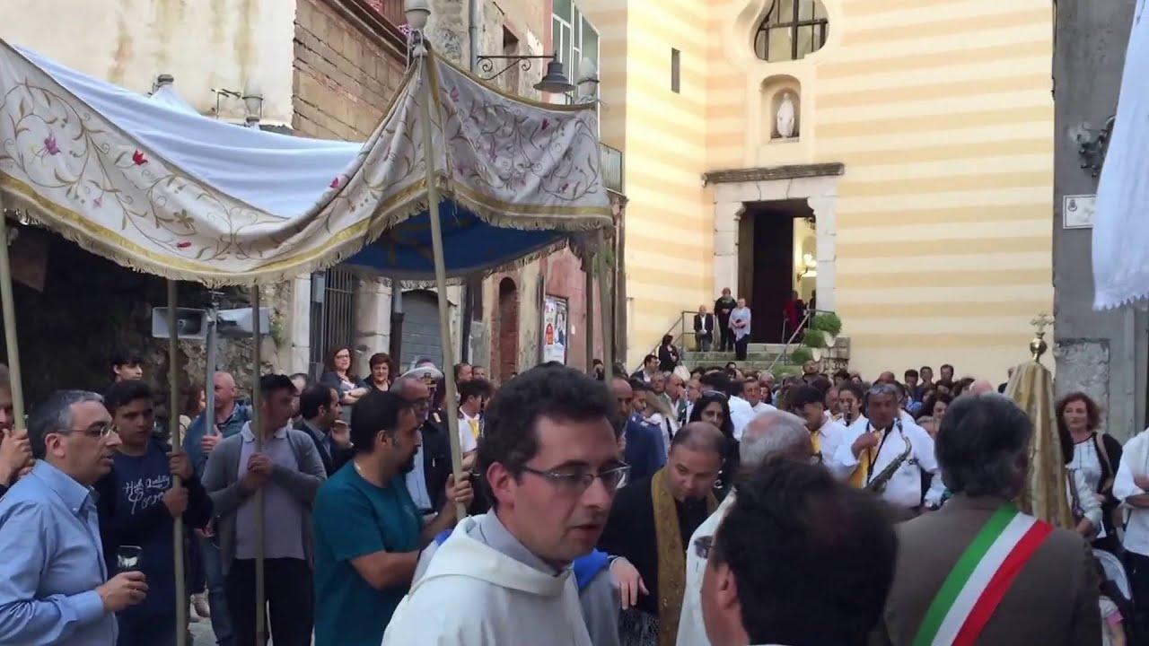 San Martino Processione Corpus Domini Youtube