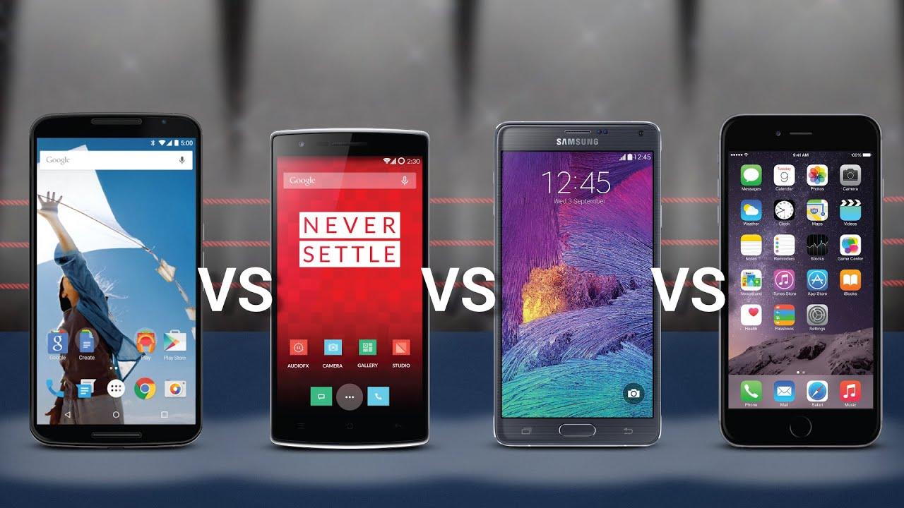 Nexus  Vs Iphone  Plus