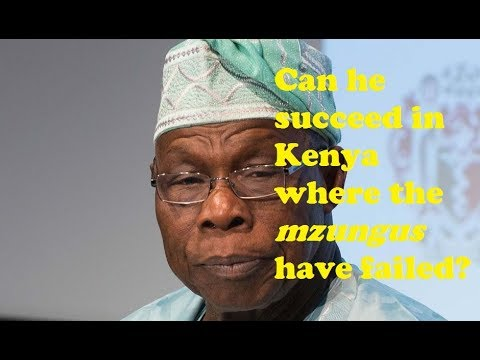 Raila Ally Obasanjo Jets In To Broker Peace With Uhuru