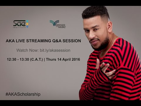 AKA Scholarship Launch - Q&A Session / SAE Cape Town & Bridges For Music