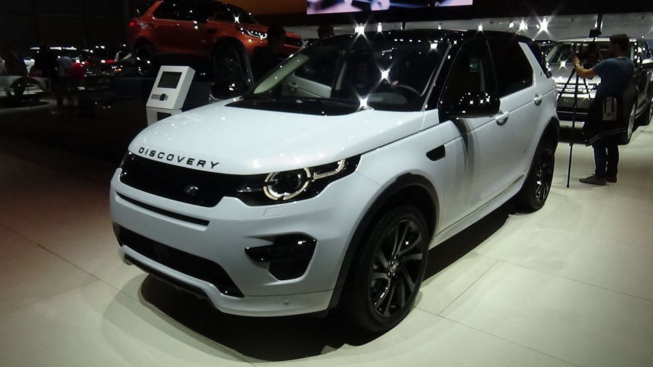 2017 Land Rover Discovery Sport Exterior And Interior Paris Auto Show 2016 You
