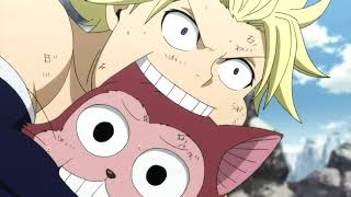 Fairy Tail  : Sting Hakueryuu mode vs Larcade Dragneel Sub Indo Full Fight
