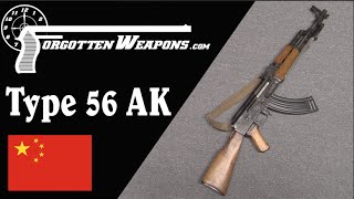 Chinese Type 56 AK 47 Shooting And History