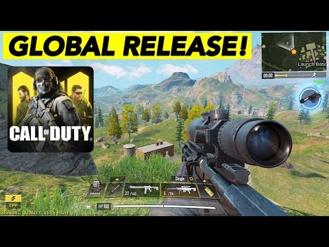 OFFICIAL GLOBAL RELEASE DATE + GAMEPLAY! | CALL OF DUTY MOBILE