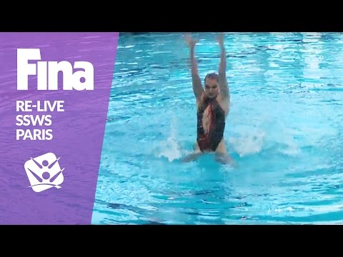 RE-LIVE | Free Solo - Paris | FINA Synchronised Swimming World Series 2017