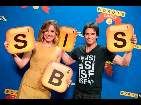 Words With Friends With Ian Somerhalder