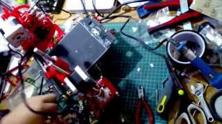 Portabee 3D Printer Kit Assembly Time Lapse