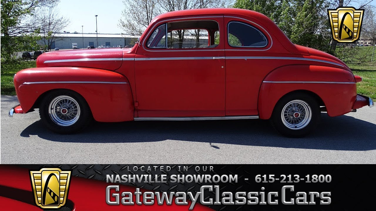 1946 ford coupe gateway classic cars nashville 759 youtube 1946 ford car parts wiring harness for 1946 ford coupe sedan [ 1280 x 720 Pixel ]