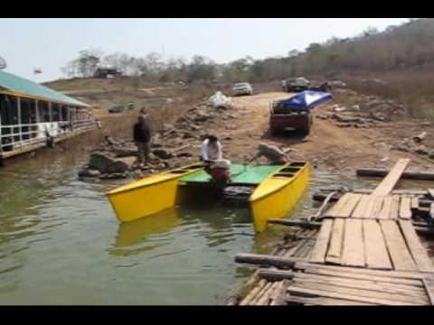 ... LONG TAIL CATAMARAN.wmv from http://longtailboats.webs.com - YouTube