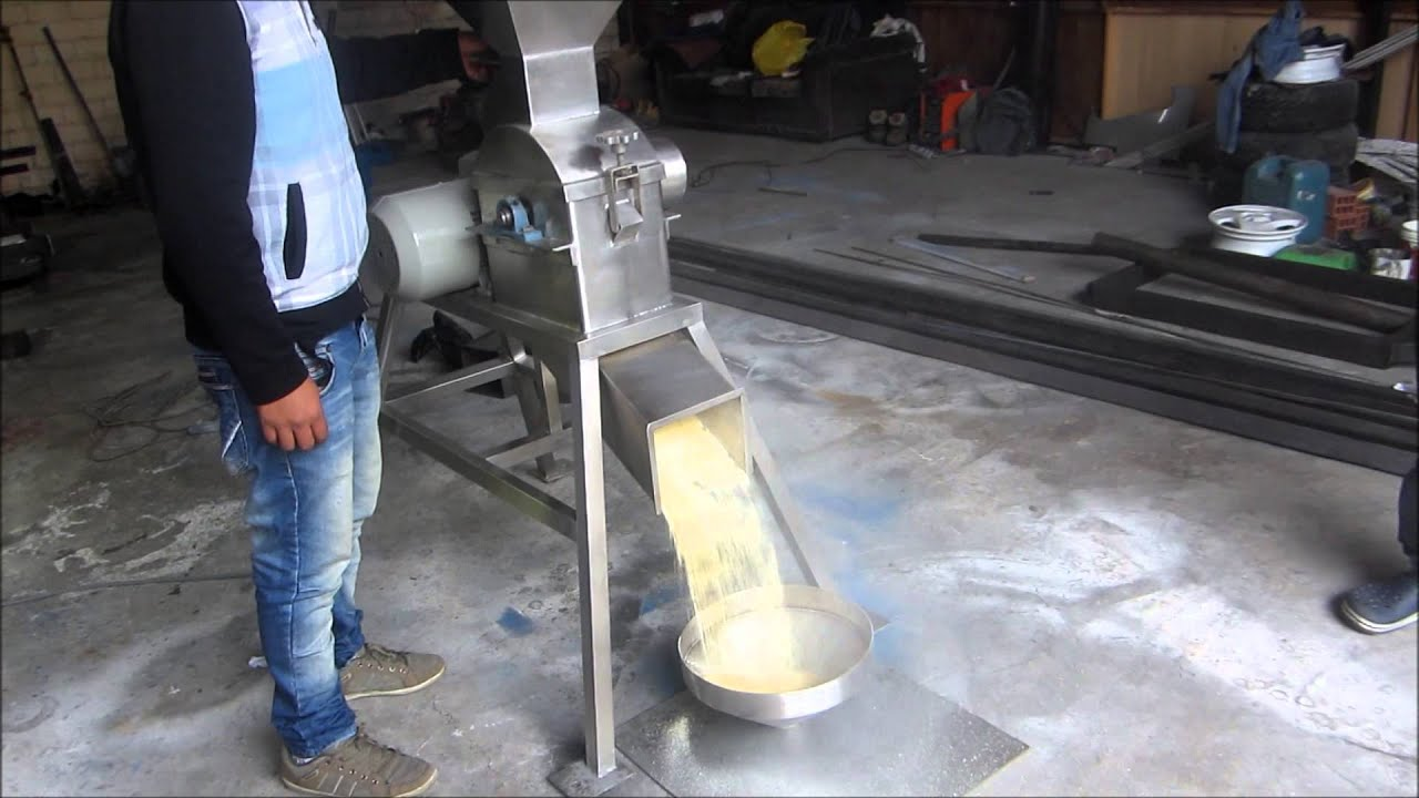 Molino de martillos para grano en acero inoxidable maiz - Molino de trigo ...