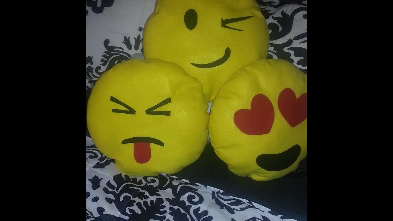 Diy cojines de emoticones youtube - Como confeccionar cojines para sofas ...