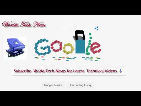 Hole Punch History Google Doodle | Today's Amazing Doodle
