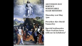 Ascension Day Service - Whitstable Team Ministry