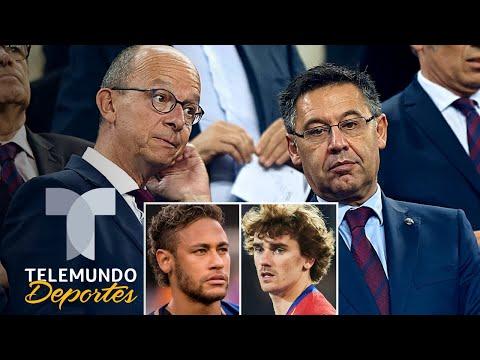 Griezmann, Neymar y el caos que están creando en el Barcelona   Telemundo Deportes