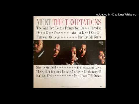 Paradise - The Temptations Classic Motown !
