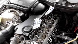 Проверка форсунок BMW 3.0 M57