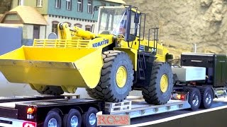 RC Truck Meeting with trucks and construction machines at RCTKA Jan17 - part 3
