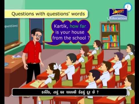 English SL Grammar Std-06 GSEB